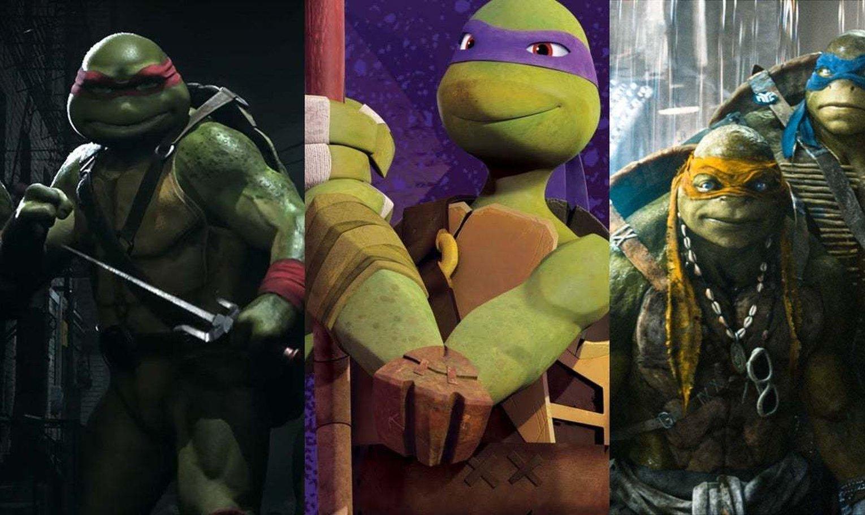 Every Teenage Mutant Ninja Turtle Movie Tv Series And Game